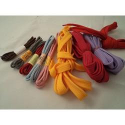 Sznurowadła płaskie kolorowe 100-120cm